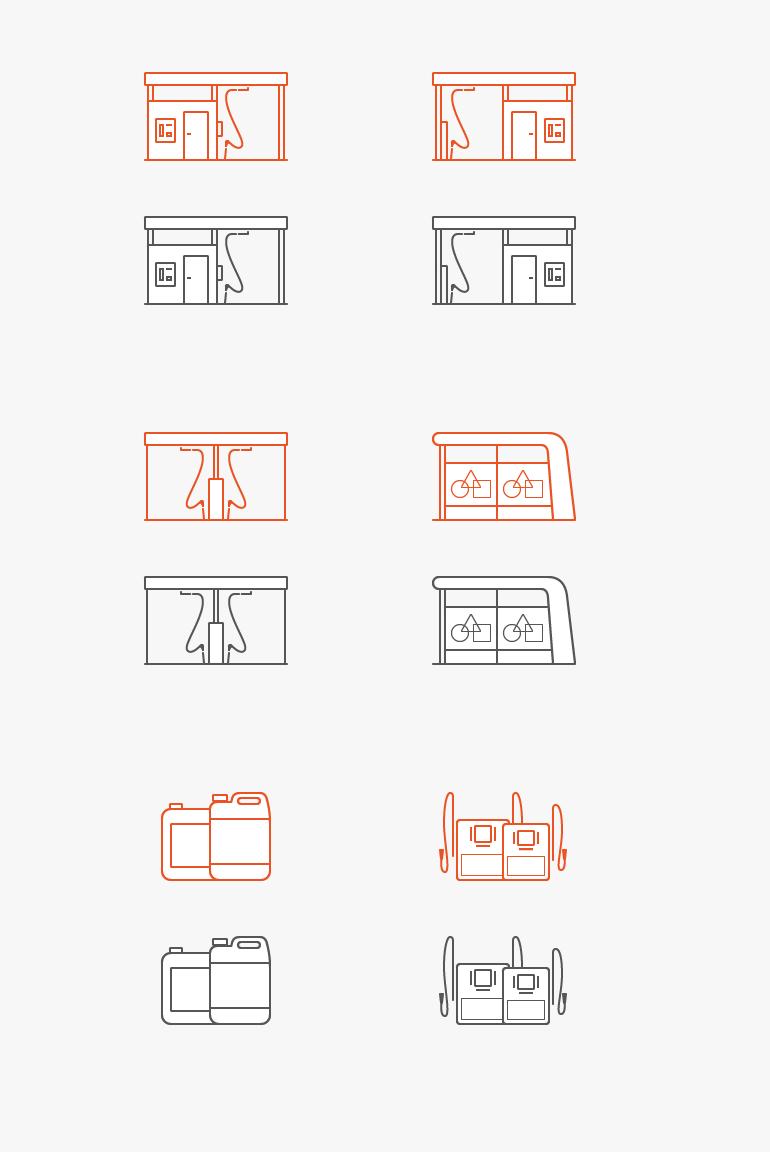 Иконки и иллюстрации для сайта