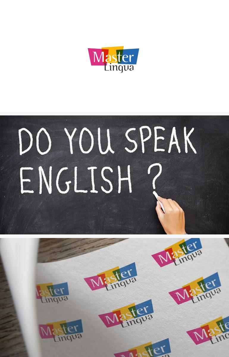 Дизайн логотипа для Master Lingua